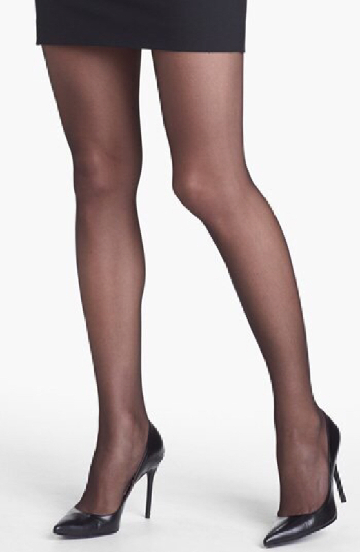 French cut pantyhose hanes
