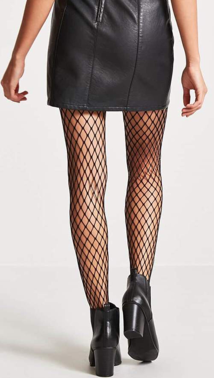 Forever 21 Fishnet Tights Fashion Tights