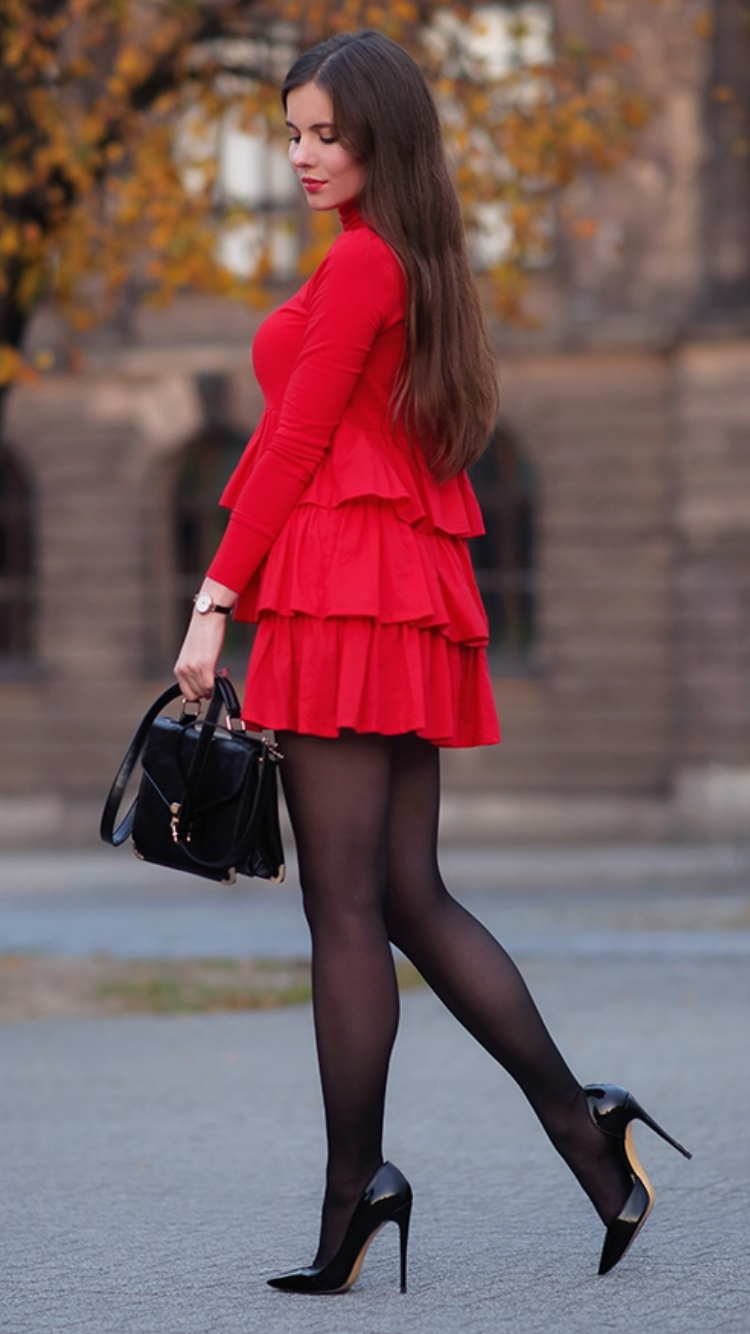 Fashion Tights With Dresses